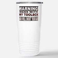 WARNING MESS WITH MY TOOLBOX.gi Travel Mug