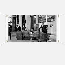 Bootleg Liquor Raid Banner