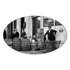 Bootleg Liquor Raid Decal