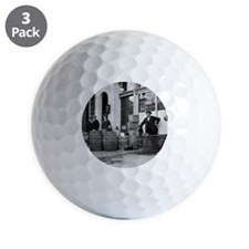 Bootleg Liquor Raid Golf Ball