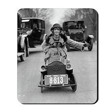 Flapper Driving Pedal Car Mousepad