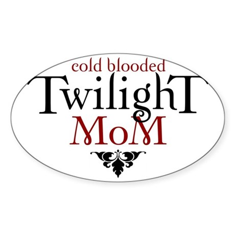 twilight-eclipse 1 Sticker (Oval)