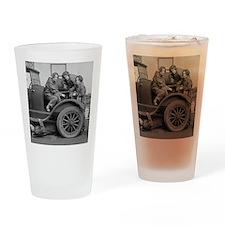 Young Lady Auto Mechanics Drinking Glass