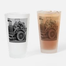 Young Lady Auto Mechanics Drinking Glass