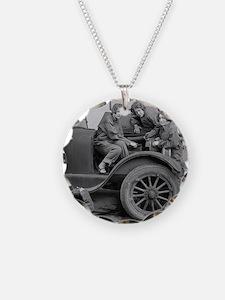 Young Lady Auto Mechanics Necklace