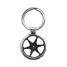 filmreel Round Keychain