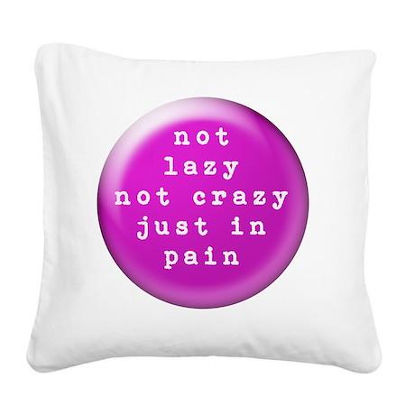 buttonscrazy Square Canvas Pillow