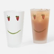 fruit face Drinking Glass