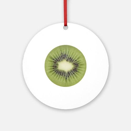 kiwi2 Round Ornament