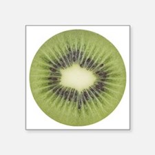 "kiwi2 Square Sticker 3"" x 3"""