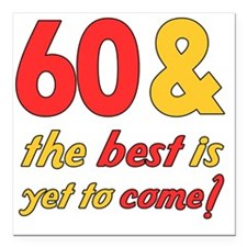"best60 Square Car Magnet 3"" x 3"""
