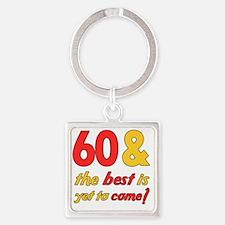 best60 Square Keychain