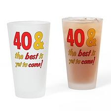 best40 Drinking Glass