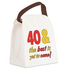 best40 Canvas Lunch Bag