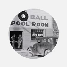 "The Eight Ball Pool Room 3.5"" Button"