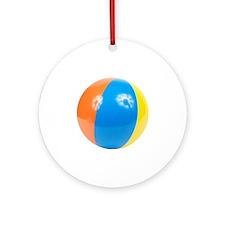 beachball2 Round Ornament