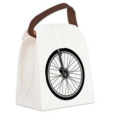 bikewheel Canvas Lunch Bag