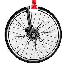 bikewheel Round Ornament