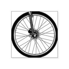 """bikewheel Square Sticker 3"""" x 3"""""""