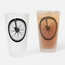 bikewheel Drinking Glass