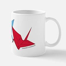 Origami Lovebirds Mug