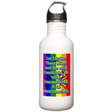 Le18-22(small poster) Water Bottle