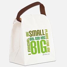 big plans Canvas Lunch Bag