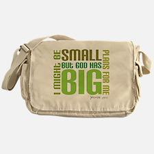 big plans Messenger Bag