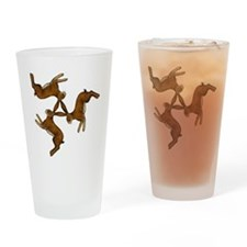 hares col Drinking Glass