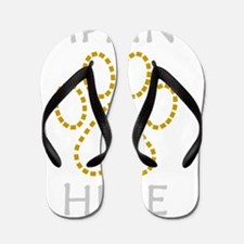 imprint-here Flip Flops