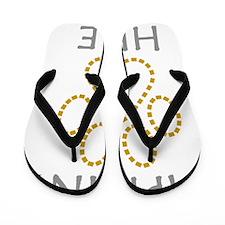 imprint-here-for-white3 Flip Flops