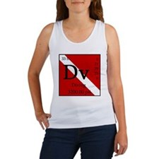 PeriodicDiver-Back Women's Tank Top