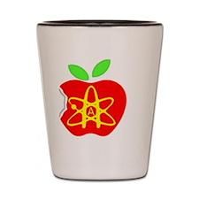 Atheist-Apple Shot Glass