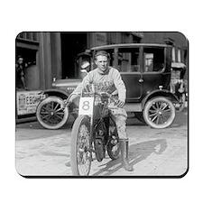 Harley-Davidson Motorcycle Racer Mousepad