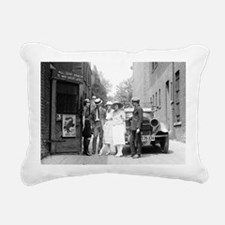 The Krazy Kat Speakeasy Rectangular Canvas Pillow