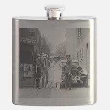 The Krazy Kat Speakeasy Flask
