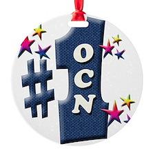number 1 ocn Ornament