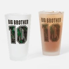 BigBrotherCamo10 Drinking Glass