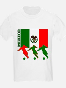 Soccer Mexico Kids T-Shirt