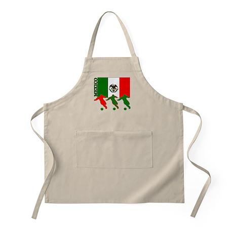 Soccer Mexico BBQ Apron