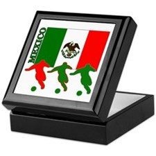 Soccer Mexico Keepsake Box