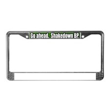 Shakedown-Offshore-Drilling-BP License Plate Frame