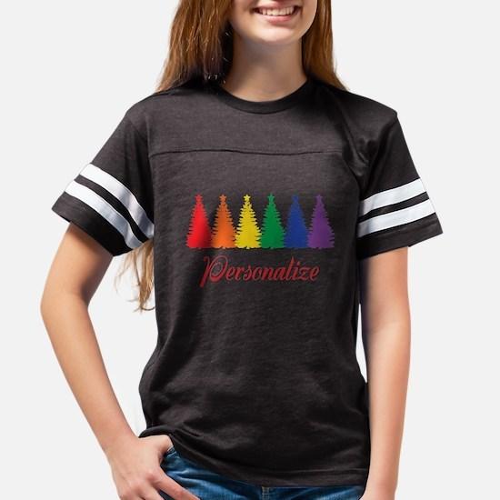 Rainbow Xmas Trees T-Shirt
