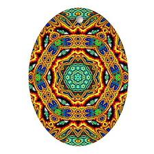 CP_psyvlinder_poster Oval Ornament
