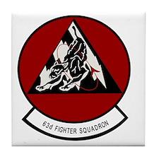 63_fightr_squadron Tile Coaster