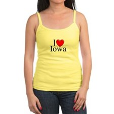 """I Love Iowa"" Jr.Spaghetti Strap"