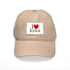 """I Love Iowa"" Baseball Cap"