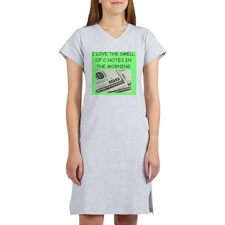 money joke Women's Nightshirt