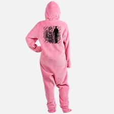 5-teamRILEY Footed Pajamas