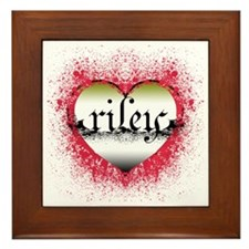riley Framed Tile
